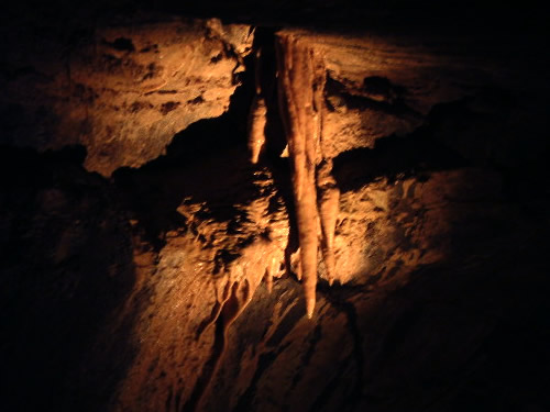Stalactites in Aillwee Cave - Caves in the Burren – A Different Visit to Ireland