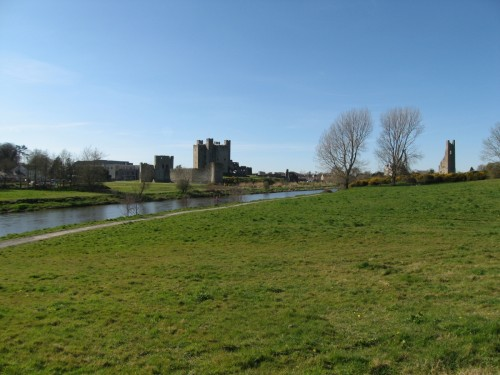 Trim Castle built by Hugh de Lacy