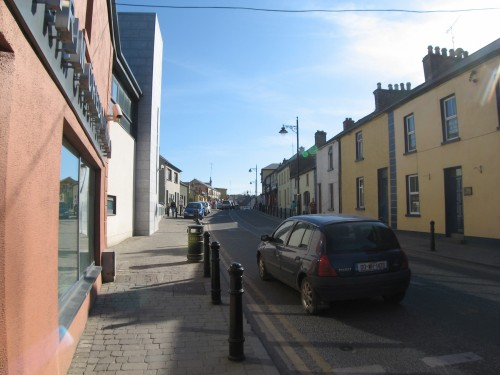 The narrow streets of Trim