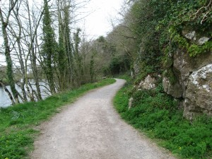Path beside River Suir