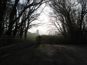 Ballinalacken Castle, Baile na leachan is a tower house.