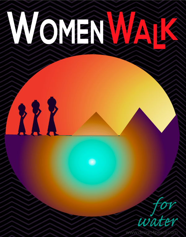 water shortage, women, water carriers