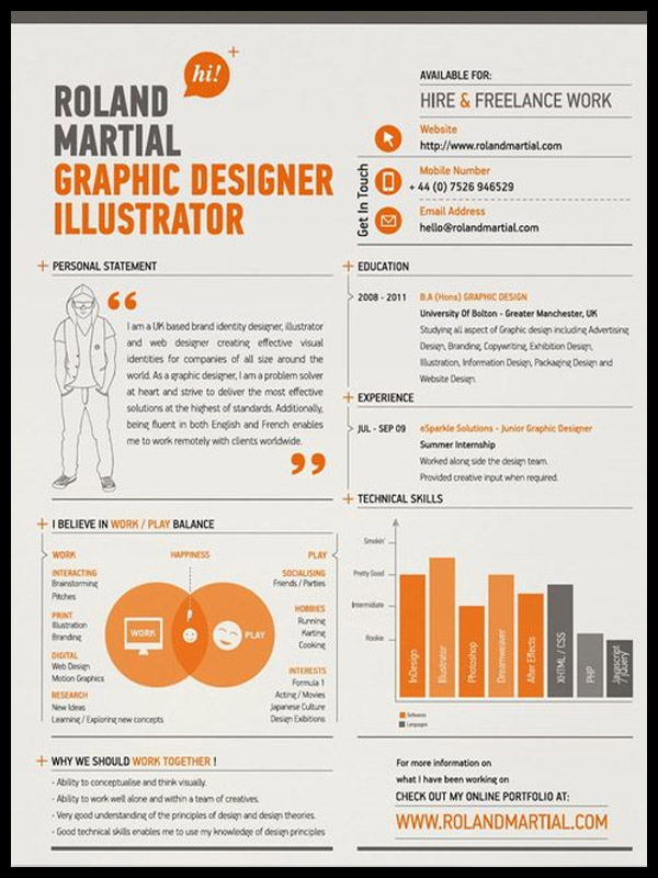 graphic designer resume tips and examples photography graphic