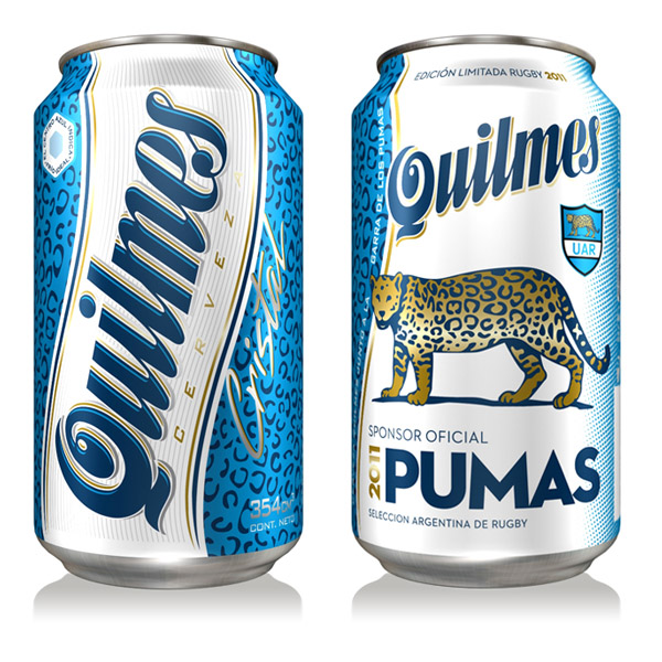 latas quilmes rugby 2011