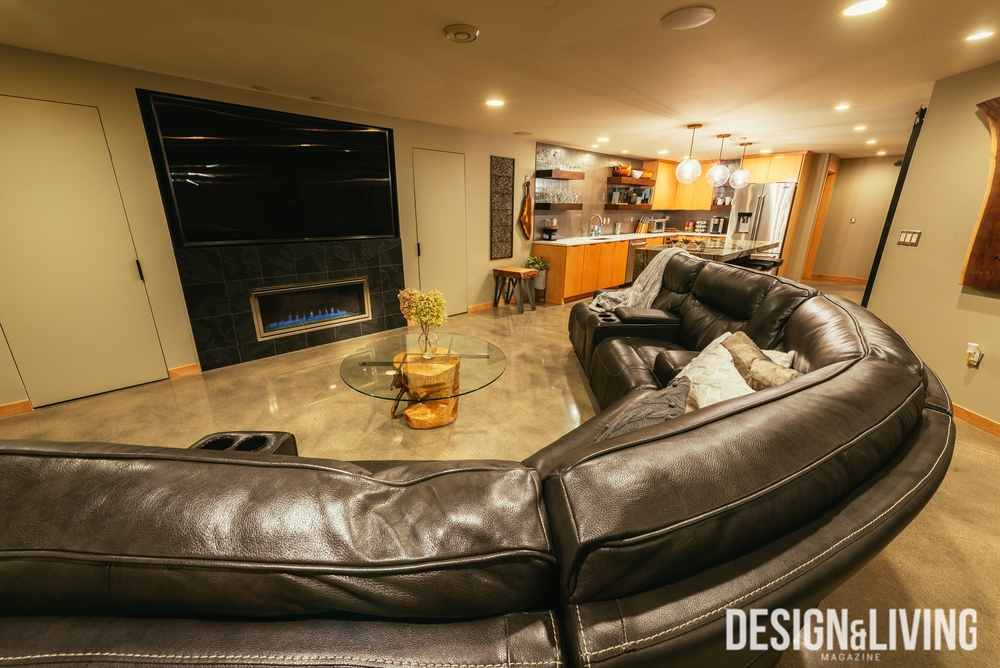 The Home Authority Basement Remodel