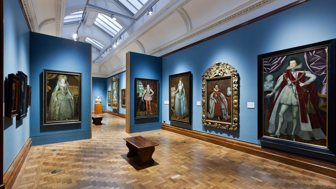 portrait - gallery - national - musea - museum - Londen - London - Engeland - design - designaresse