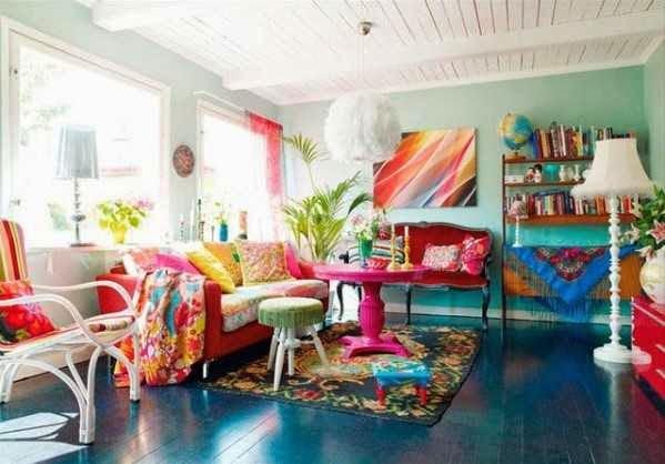 Interieurinspiratie een kleurrijk interieur - Designaresse