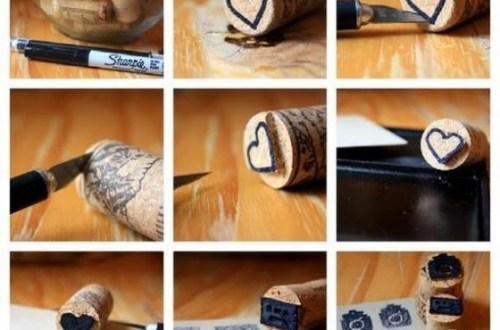 Stempels van kurk - DIY - Designaresse