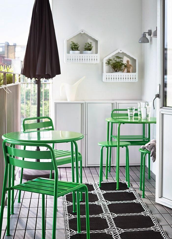 Ikea buiten collectie - tuin en balkon - Designaresse