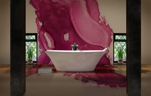 Inspiratie - roze - badkamer - Designaresse