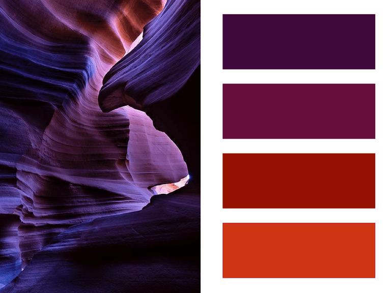 Rood en paars - moodboard - trends 2016/2017 - Designaresse