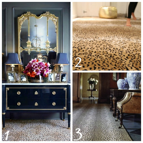 Decorating with Animal Prints: Rugs