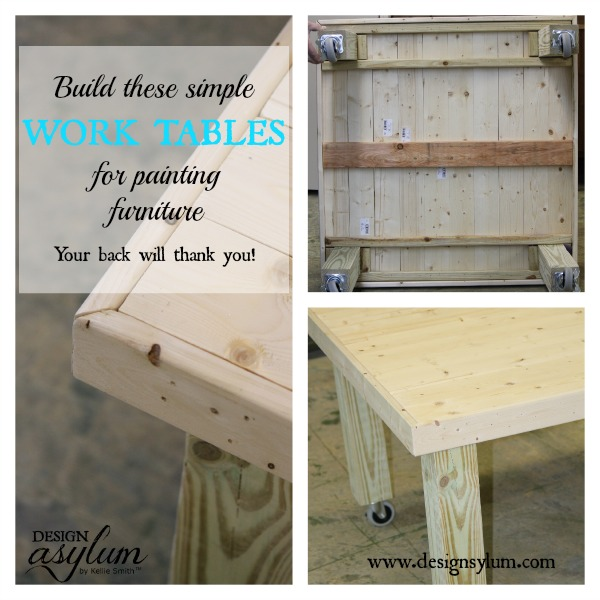 Build Furniture Painting Tables | Design Asylum Blog