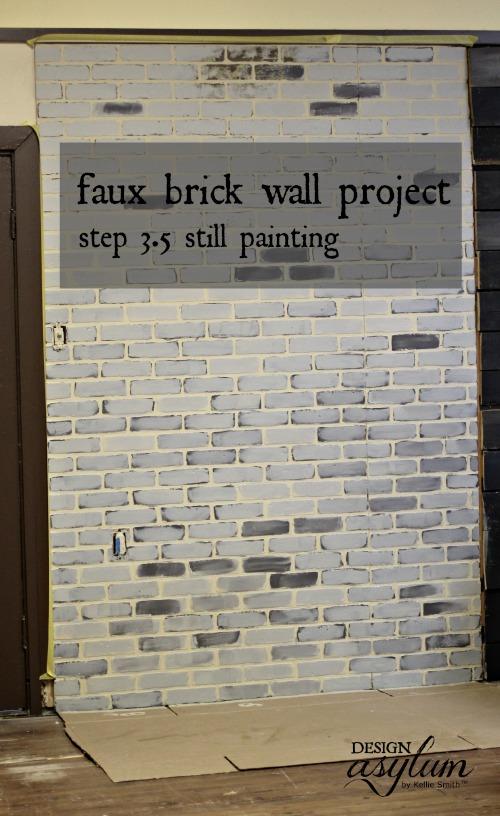 Faux brick walls | Design Asylum Blog