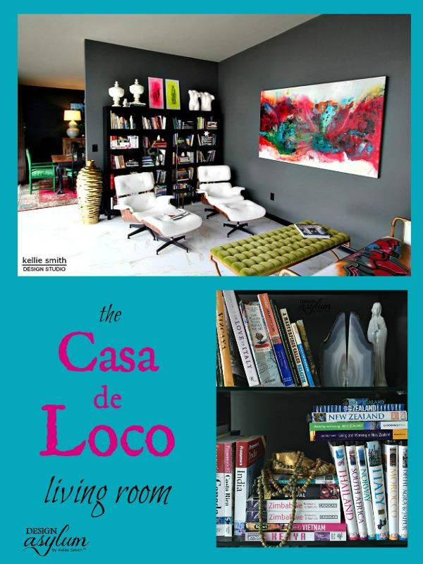 Kellie Smith's Casa de Loco: Living Room Tour