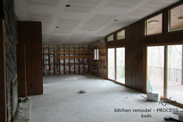 Kellie Smith's Diary of a Complete Kitchen Gut and Remodel This is where we started.