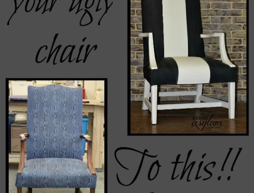 How to Paint Fabric with Velvet Finishes. There's a secret to a smooth finish, it's easy and I'm going to share it! | Design Asylum Blog
