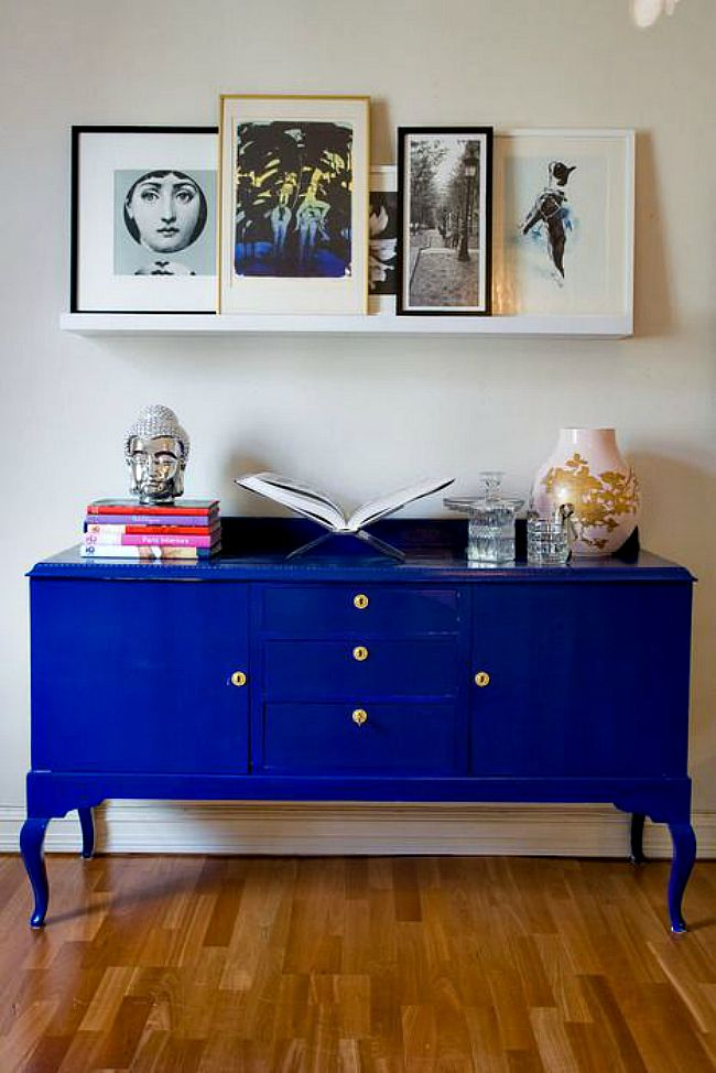 Velvet Finishes Colour of the Month is Modern! A strong and spectacular blue. Check out these gorgeous blue inspirations.