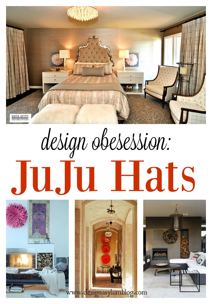 Do you love juju hats as much as I do? They bring an organic and natural element into any space. White, colorful and a DIY version are all here. Take a look!