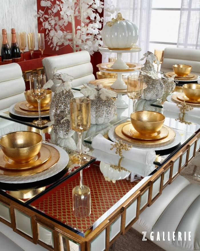 Inspiring Thanksgiving Tablescapes