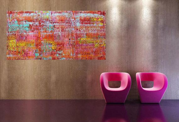 xxl abstrakt art painting