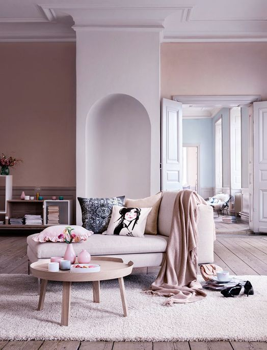 Pantone's Color of the Year 2016 Inspirations - Rose Quartz and Serenity