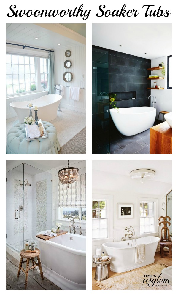 Swoonworthy Soaker Tubs - Design Asylum Blog | by Kellie Smith