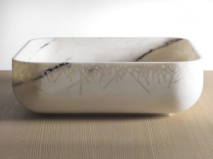 lavabo design Kreoo Nabhi finitura filigrana2