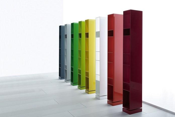 libreria design sidewall by porro