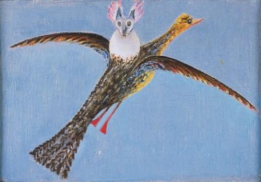 08. M. Oppenheim_Vogel mit Parasit_1939