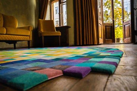 dettaglio tappeto moderno islands rug