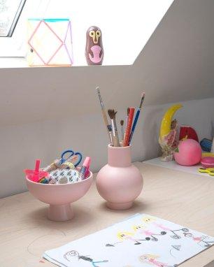 ceramiche colorate interior design complementi raawii