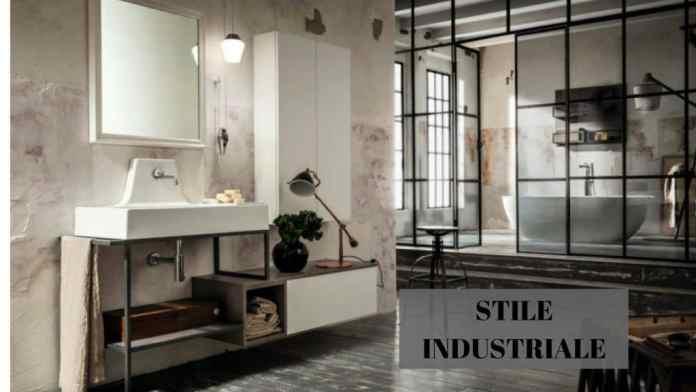 bagno stile industrial
