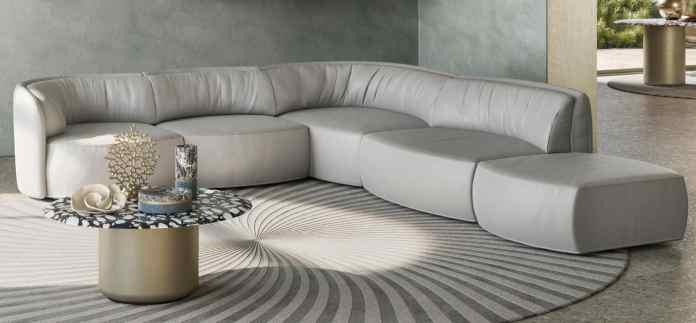 divano angolare natuzzi deep