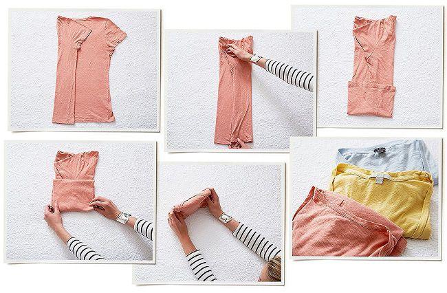 metodo konmari di marie kondo come piegare i vestiti