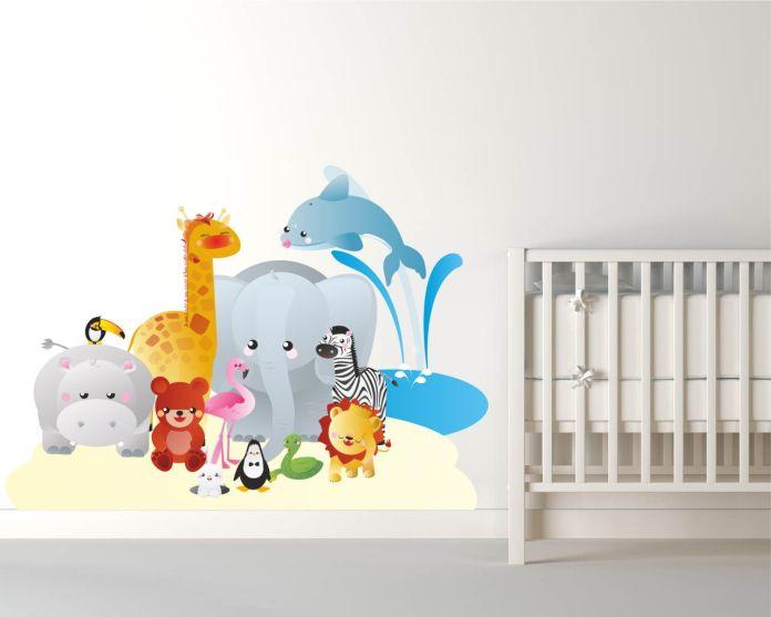 adesivi murali bambini 1