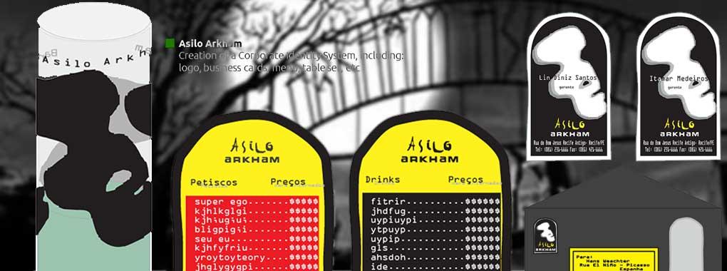 """""""Asilo Arkham"""", by Itamar Medeiros and Lin Diniz"""