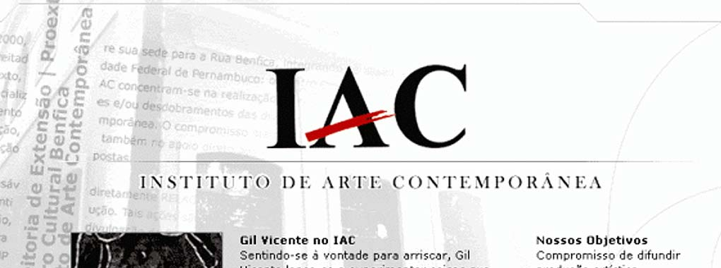 Instituto de Arte Contemporanea (IAC)
