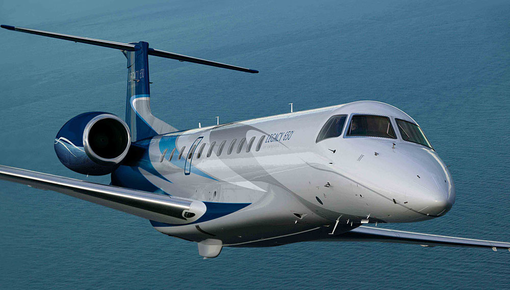 Legacy 650 by Embraer