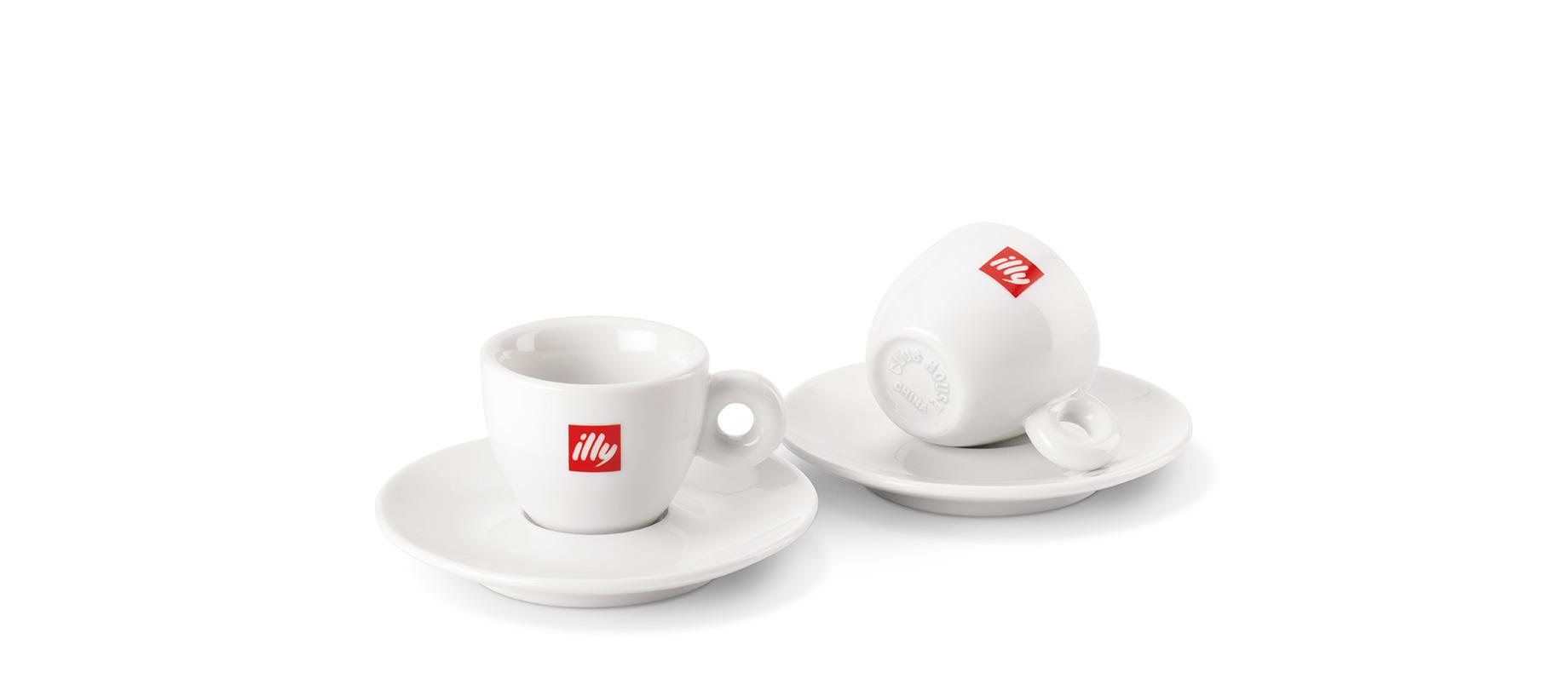 La tazzina per il caffé espresso Illy, di Matteo Thun