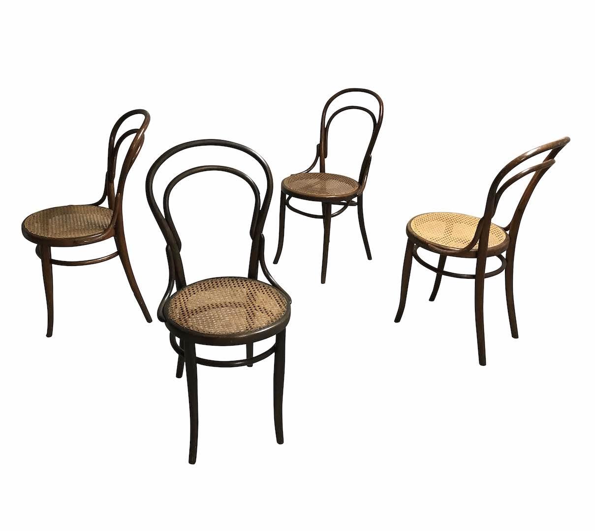 La sedia 14 di Thonet, la prima prodotta in massa