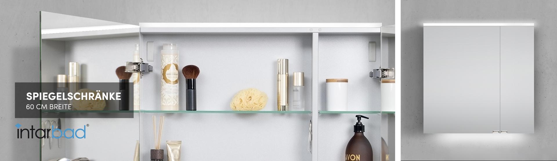 60cm Spiegelschranke Fur Ihr Bad Designbaeder Com