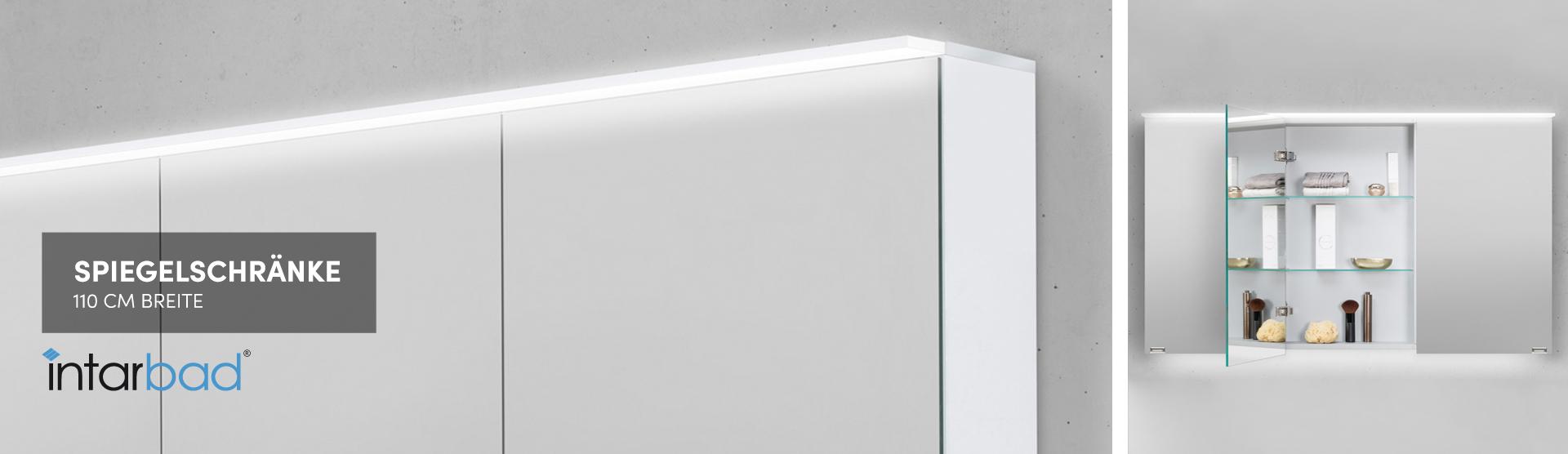Spiegelschrank 110 Cm Fur Ihr Bad Designbaeder Com