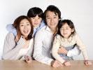 家族写真サンプル