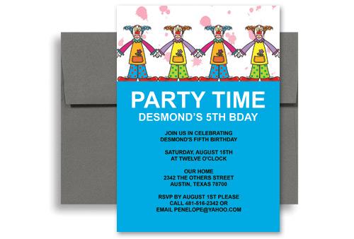 Birthday Invitation Template Word. word template birthday ...
