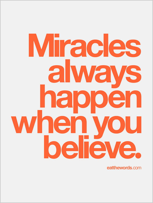 Image result for copyright free images quotes of miracles