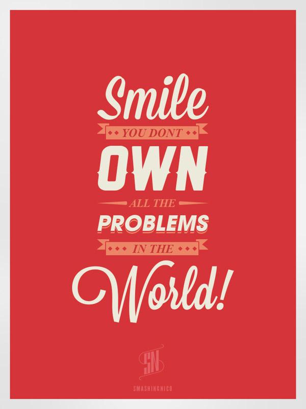 Happy-Life-Typography-Design-Posters