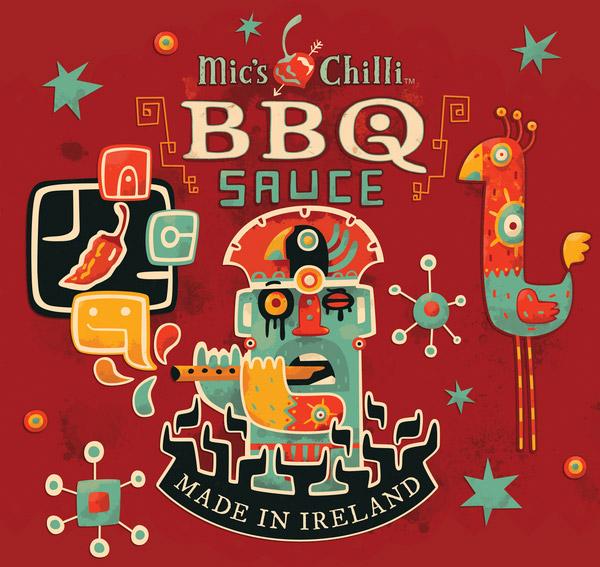 BBQ-Sauce-packaging-design