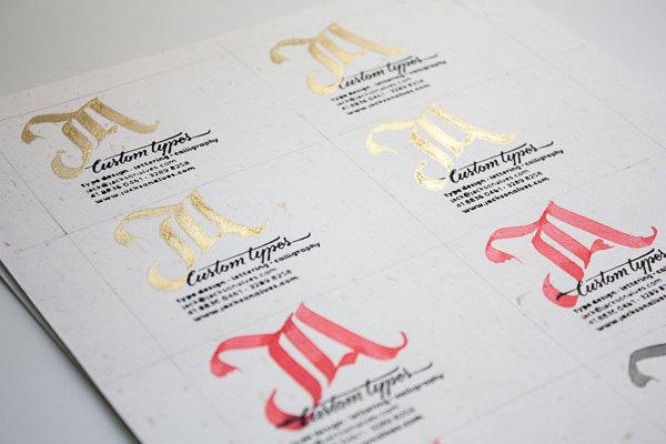 JA-Custom-Types-logo-&-business-card-design