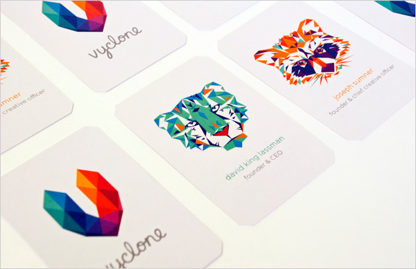 Vyclone-social-video-platform-company-business-card-inspiration